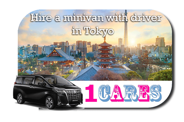 Rent a minivan with driver in Tokyo