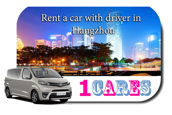 Hire a car with driver in Hangzhou